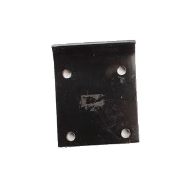 Contre-plaque 4 trous 100x100, renfort, pour dent Gouvyflex, pièce interchangeable