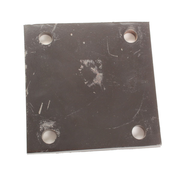 Plaque supérieure 150x150 dent Gouvyflex, pour bâti de 100, pièce interchangeable