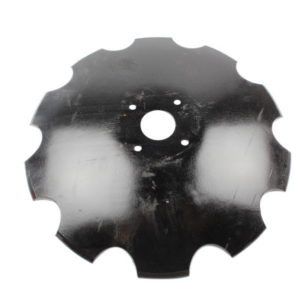 Disque crénelé 510x6 mm, 4 trous, 258513, pour déchaumeur Gaspardo, pièce interchangeable