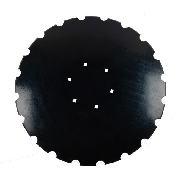 Disque crénelé 510x4mm, 6 trous, 690153508 pour déchaumeur HE-VA Disc Roller, pièce interchangeable