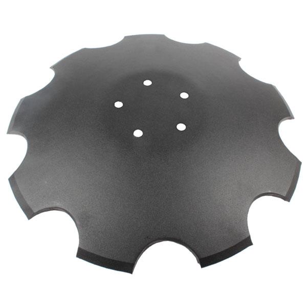 Disque crénelé 460x6 mm, 5 trous, pour déchaumeur Horsch, pièce interchangeable