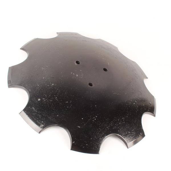 Disque crénelé 460x6, 23246106, 3 trous, pour déchaumeur Horsch, pièce interchangeable