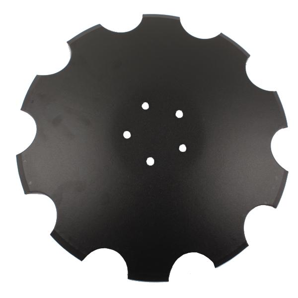 Disque crénelé 515x6 mm, 5 trous, pour déchaumeur Horsch, pièce interchangeable