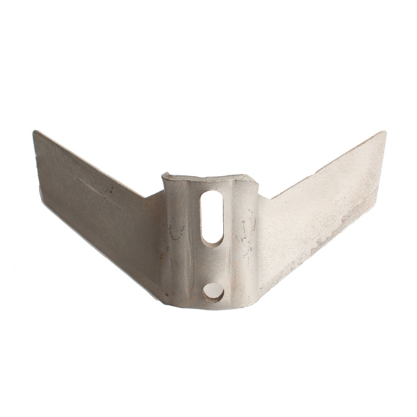Aileron pour vibroculteur Kongskilde, 300x6 mm, entraxe 45-75mm, pièce interchangeable