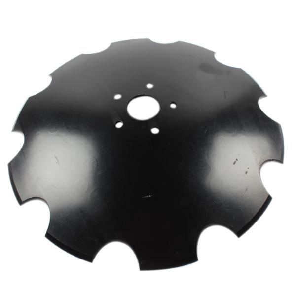 Disque crénelé 560x5 mm, 5 trous, pour déchaumeur Jean de Bru, pièce interchangeable