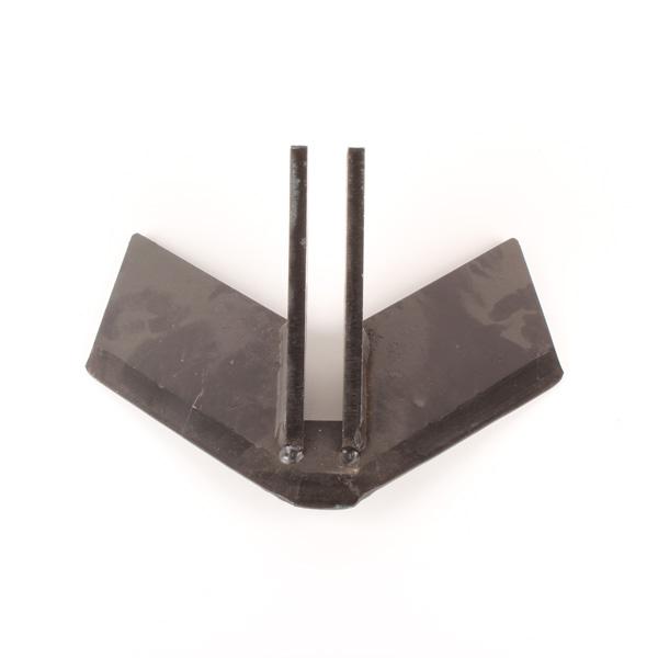 Aileron monobloc pour déchaumeur à dents, 310X10 mm, 506015, pièce interchangeable