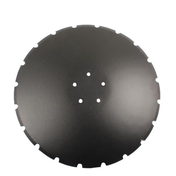 Disque crénelé 565x5 mm, 5 trous, RF2931797, pour Kverneland Qualidisc, pièce interchangeable