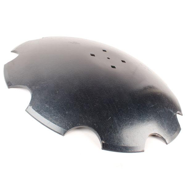 Disque crénelé 610x6 mm, 4 trous, pour Maschio, pièce interchangeable