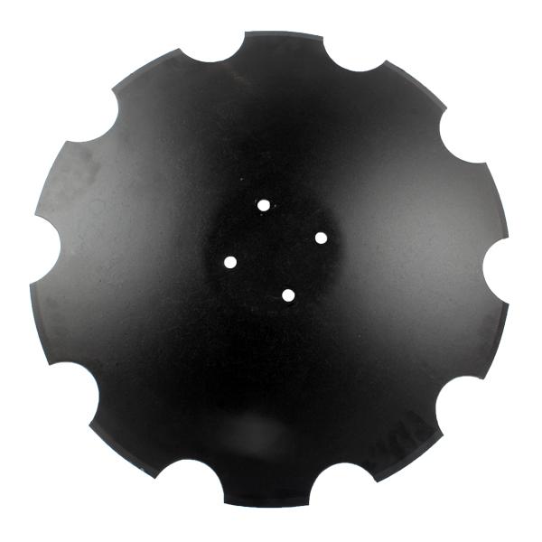 Disque crénelé 610x5 mm, 4 trous, R18120080 pour UFO Maschio, pièce interchangeable