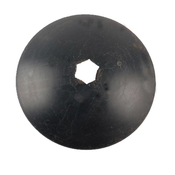 Disque lisse 610x5 mm, alésage 89 mm , trou hexagonal, forges de niaux