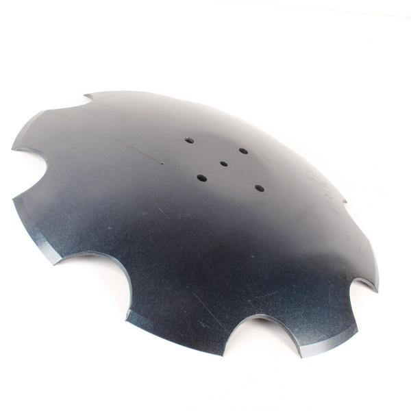 Disque crénelé 510x4 mm, 4 trous, pour Pottinger, pièce interchangeable