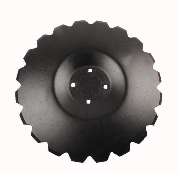 Disque crénelé 460x4, pour déchaumeur à disques Techmagri Discocrop, TEC038, pièce interchangeable
