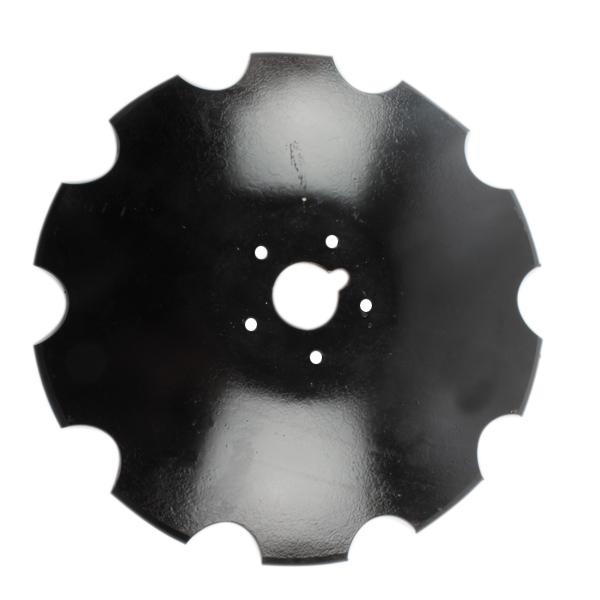 Disque crénelé 510x6 mm, 5 trous, pour déchaumeur Tulip, pièce interchangeable