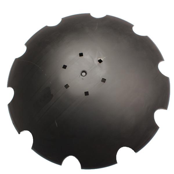 Disque crénelé 660x6 mm, 6 trous, pour Unia, pièce interchangeable