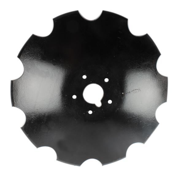 Disque crénelé 560x6 mm, 5 trous, pour déchaumeur Tulip, pièce interchangeable