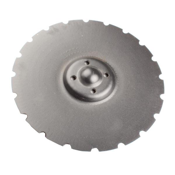 Disque crénelé 450x5 mm, 4 trous, pour déchaumeur Vaderstad Carrier, pièce interchangeable