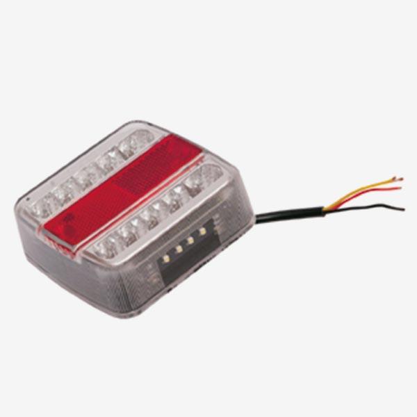 Feu arrière à LED, 4 fonctions
