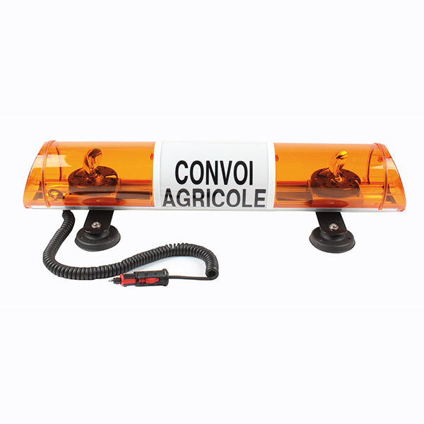Convoi agricole lumineux, 12v, Buisard, fixation magnétique