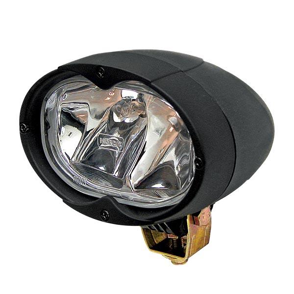 Phare de travail ovale + ampoule.