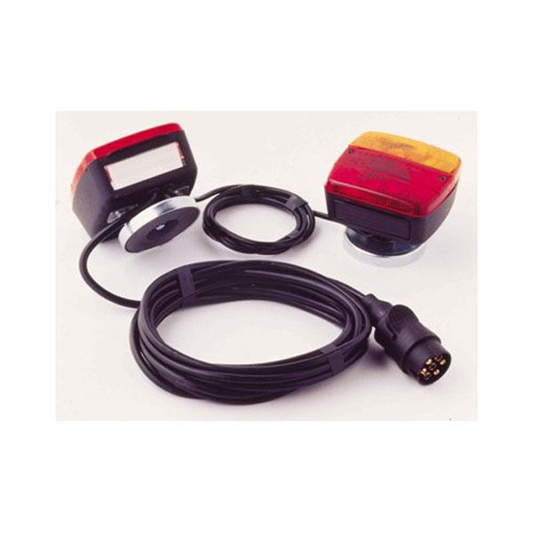 Kit d'éclairage signalitique feu arrière magnétique 12 mètres