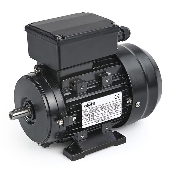 Moteur électrique monophasé IE1 B3 1,5KW 220V, 1500 Tr/min, simple condensateur