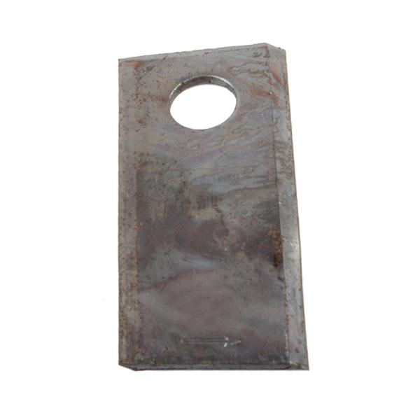 Couteau de faucheuse vrillé gauche, 106x48x4mm, trou 19, 122329,  pièce interchangeable