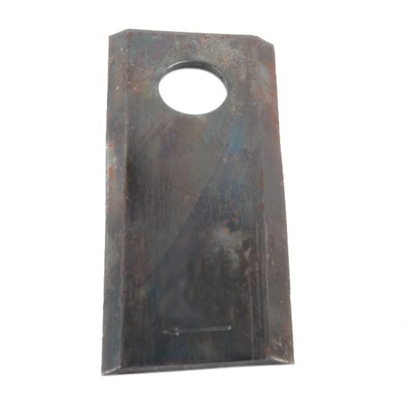 Couteau de faucheuse vrillé droit, 93x40x3mm, trou 16,25, 56151300, pièce interchangeable