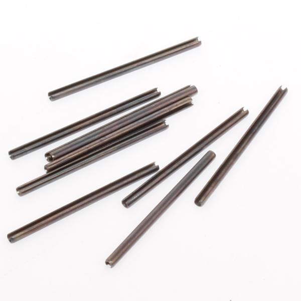 Lot de 10 goupilles elastiques diamètre 2 mm longueur 40 mm