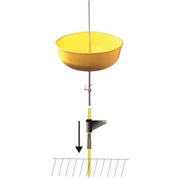Piège à insectes Flora, tuteur 1,50 m, kit complet