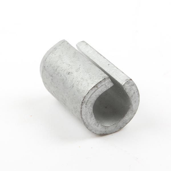 Goupille élastique 12x20 mm pour fixation cale de versoir Kuhn, 80451220, pièce d'origine
