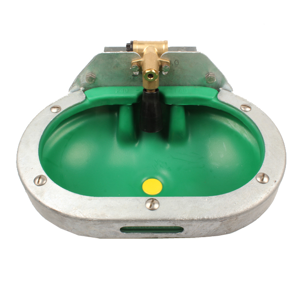 Abreuvoir F40,bol très large en PEHD avec rebord anti-gaspillage,3065,labuvette