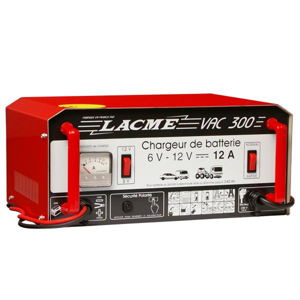 Chargeur de batterie Lacmé VAC 300-2 professionnel