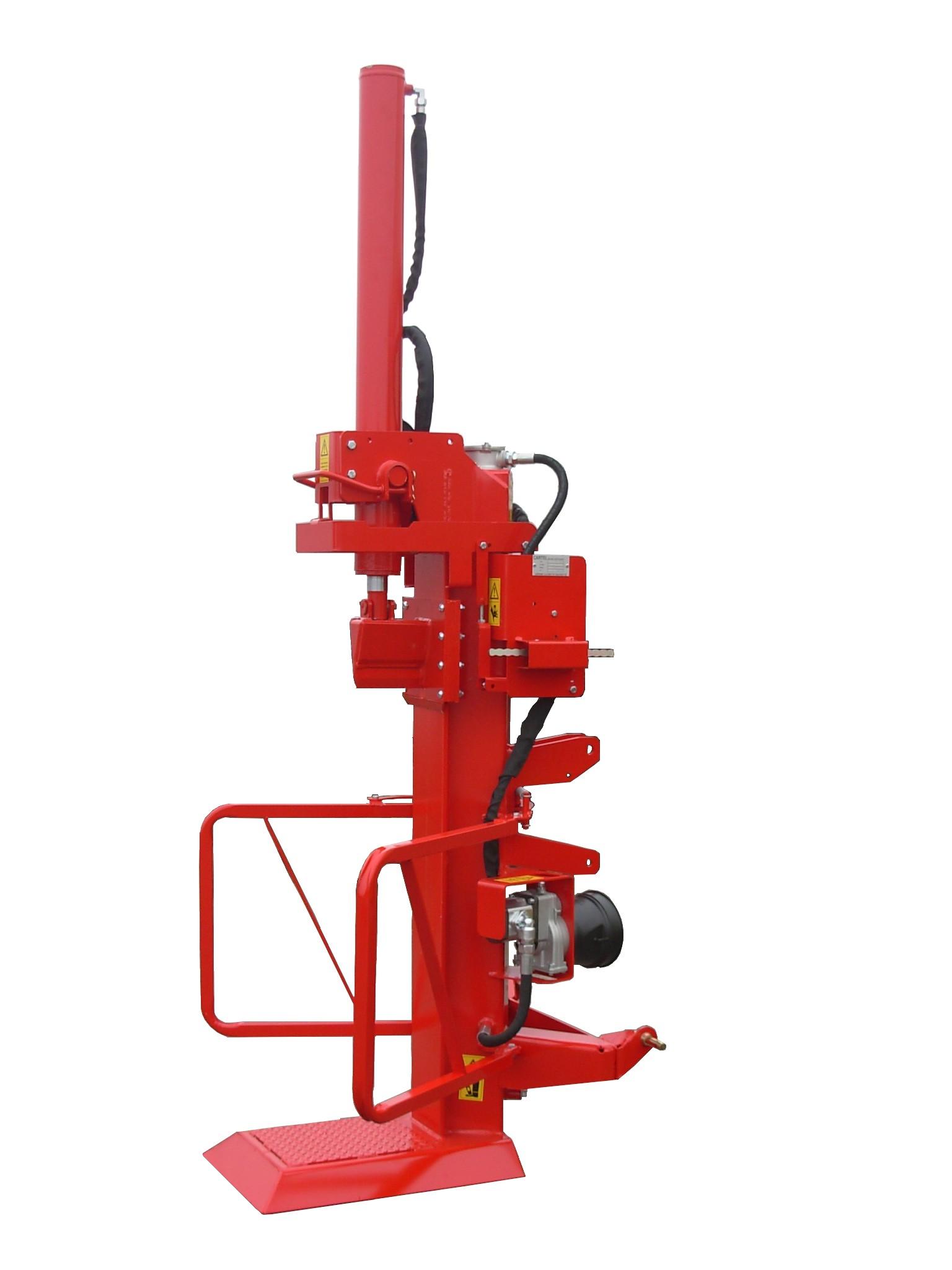 Fendeuse hydraulique 15T, entraînement par groupe indépendant