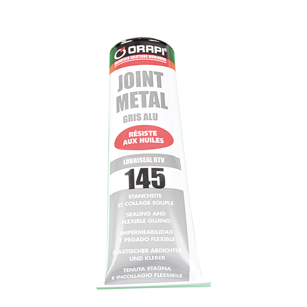 Tube joint metal gris 100g, Orapi