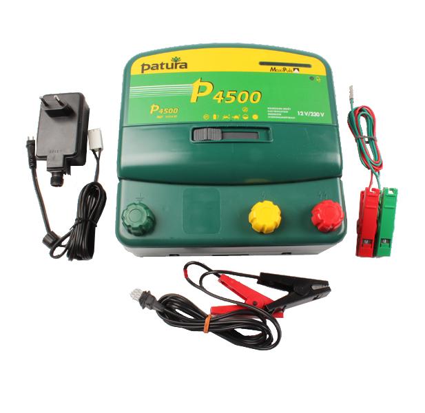 P4500, électrificateur sur secteur 230 v