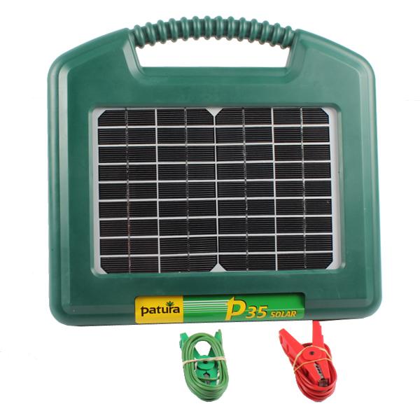 Electrificateur P35, avec module solaire, 140400, PATURA