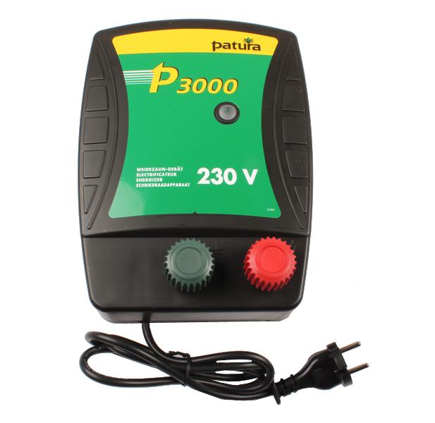 P3000, ELECTRIFICATEUR 230V 2.7JOULES