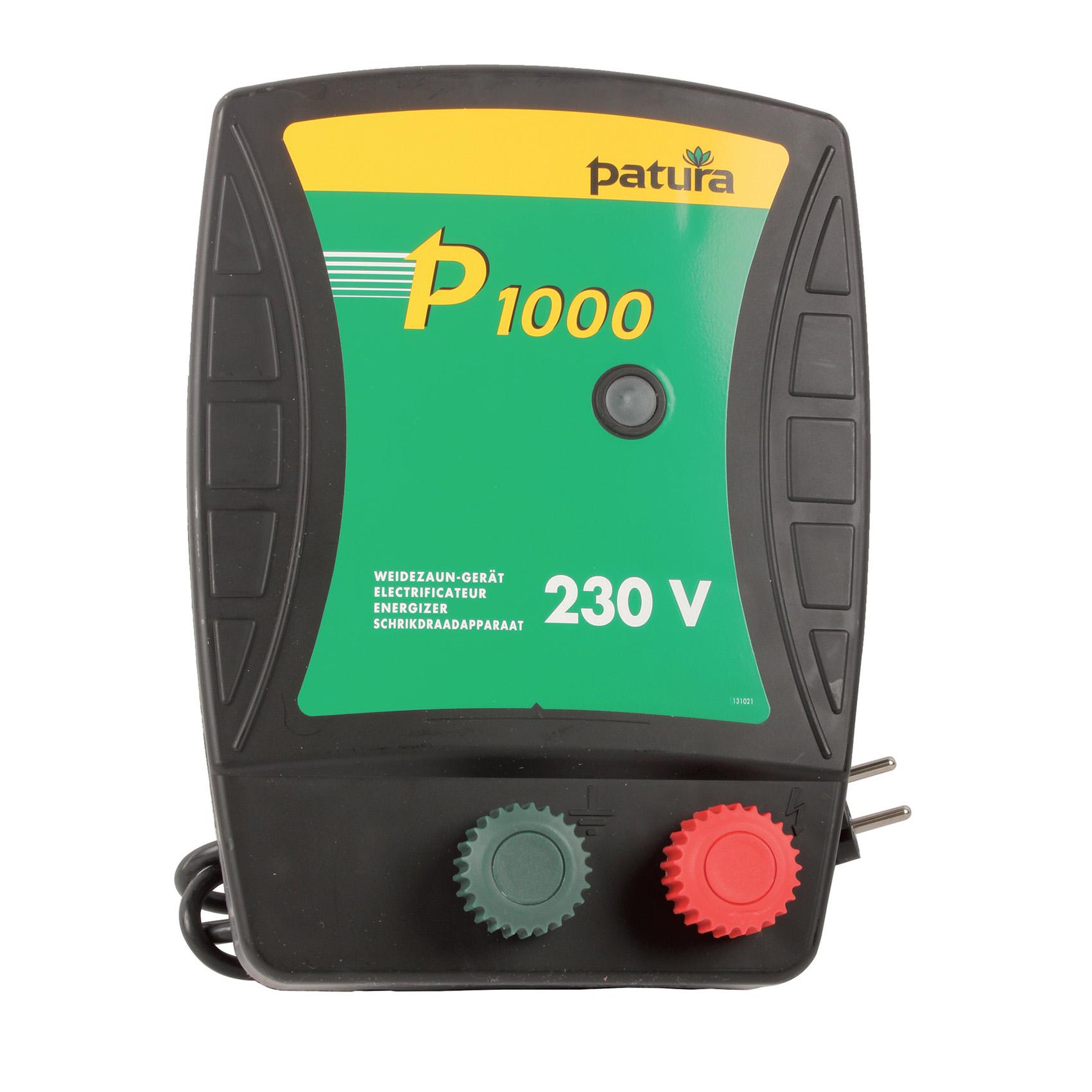 Electrificateur P1000, 230 V, 0,75 joules