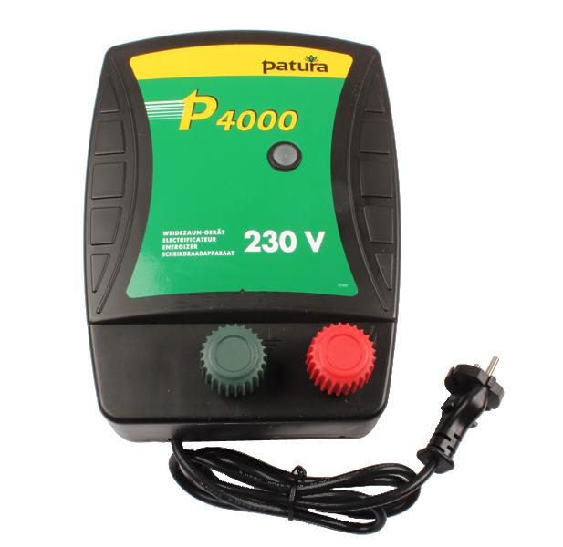 P4000, ELECTRIFICATEUR 230V 2.7JOULES
