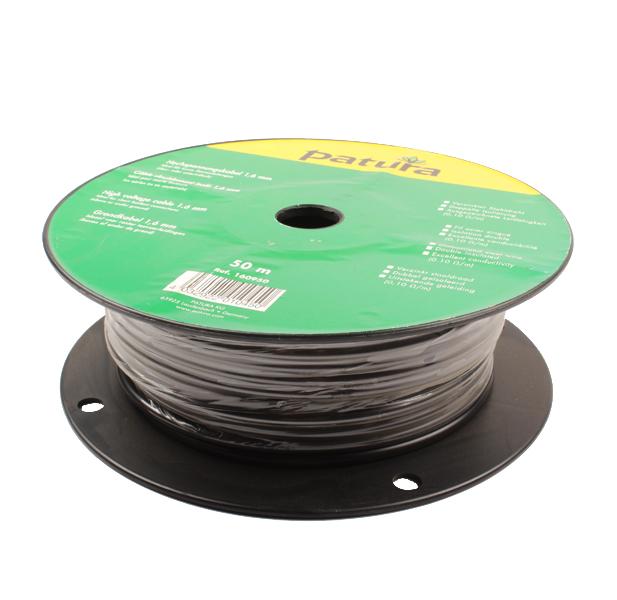 Câble isolé haute tension 1,6mm/50M