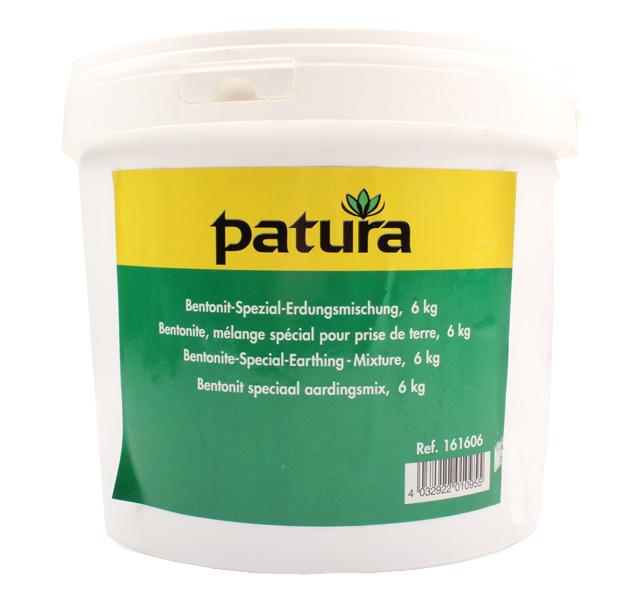 Bentonite, mélange pour prise de terre