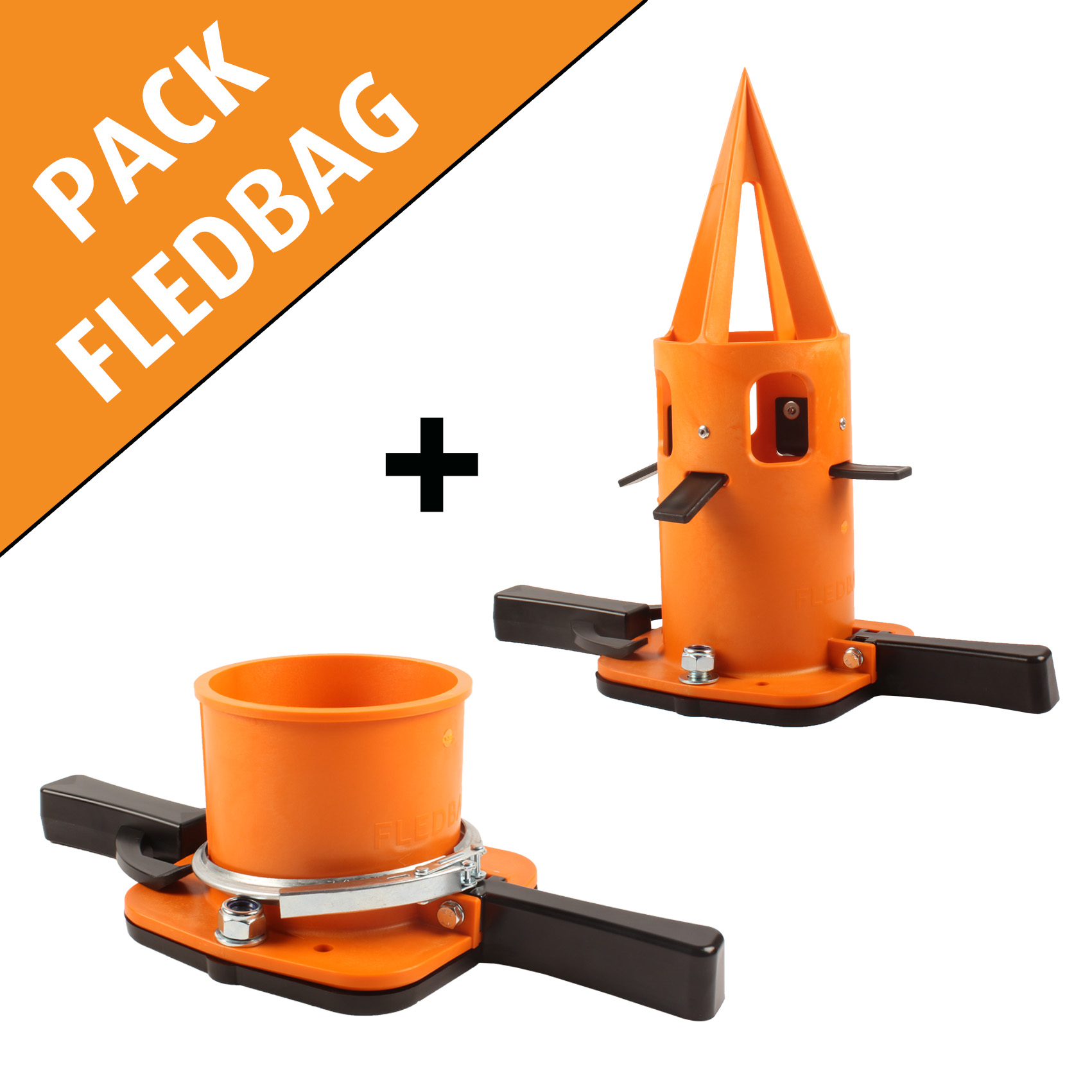 Combiné comprenant Feldbag ORIGINAL et EASY, doseur flexible pour big bag