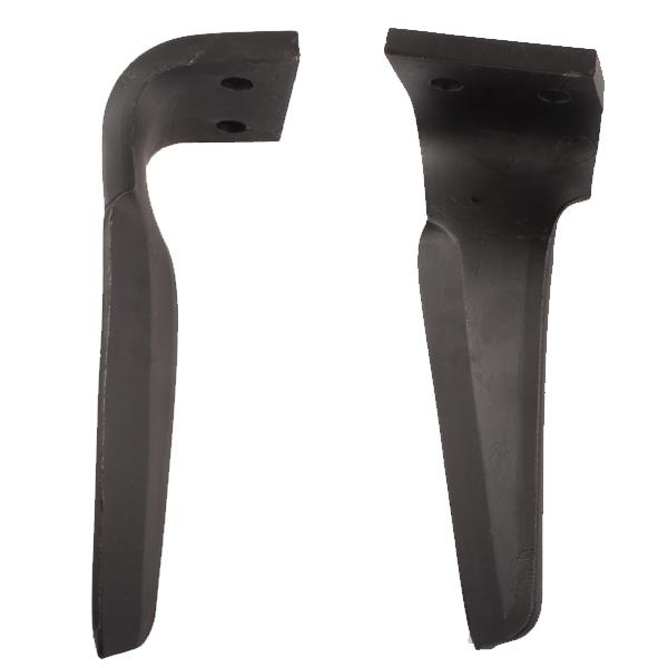 Dent gauche de herse rotative, pour ALPEGO, D07401A, pièce Interchangeable