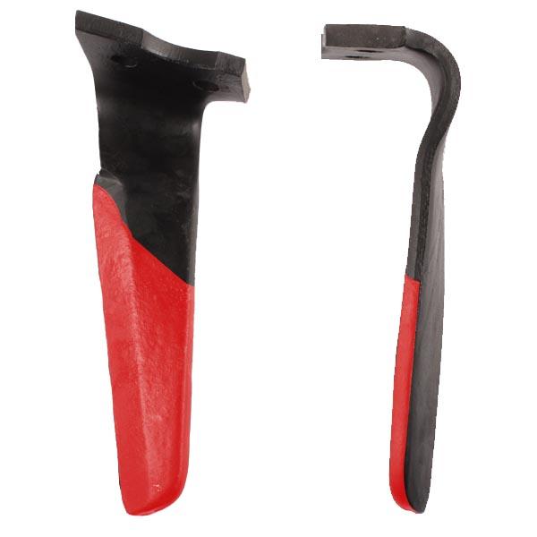 Dent gauche de herse rotative, 310X110X15, pour Alpego, D03001 revêtement carbure