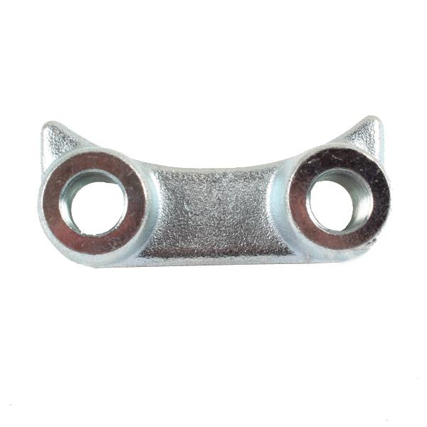 Bride de fixation pour dent de herse rotative Alpego, D03011, entraxe 60 mm, pièce interchangeable