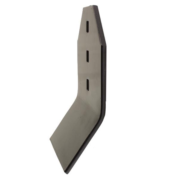 Palette coudée 260x150x8mm pour dent niveleuse crossboard 80x10, pièce interchangeable