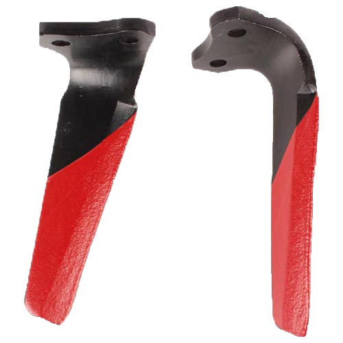 Dent droite de herse rotative, 52539400, pour KUHN, pièce Interchangeable, Revêtement carbure