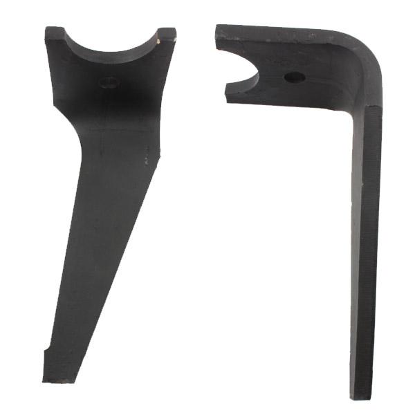 Dent gauche de herse rotative renforcée, K2501120, pour KUHN optimix 2, pièce Interchangeable