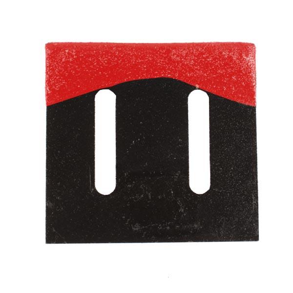Décrottoir , pour MASCHIO, 27100539, pièce Interchangeable, Revêtement carbure, Réversible