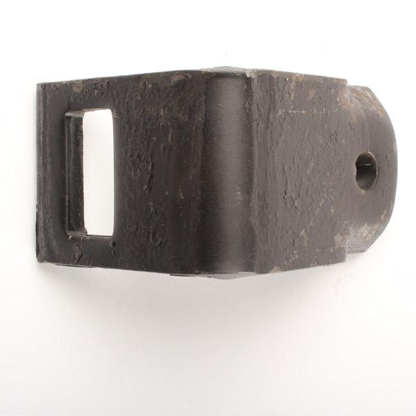 Bride 60x60mm de vibroculteur, pour dent de 45x12, épaisseur 10 mm, pièce interchangeable
